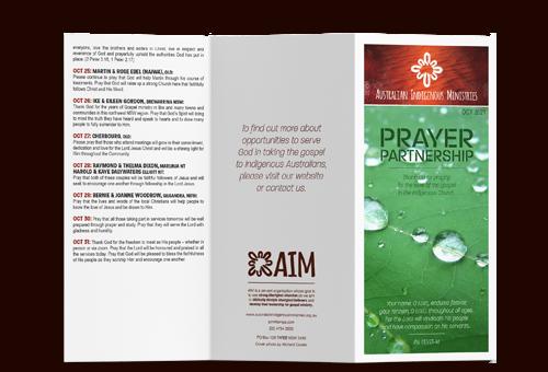 Prayer Calendar Oct 2021